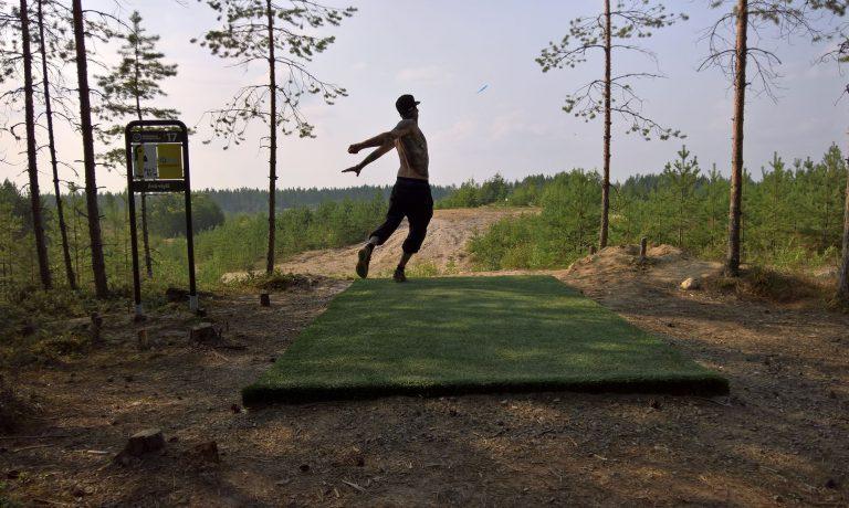 Frisbeegolfharjoitukset Köykärinmäellä alkavat 15.5.